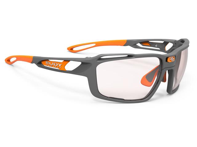 Rudy Project Sintryx Okulary rowerowe szary/pomarańczowy